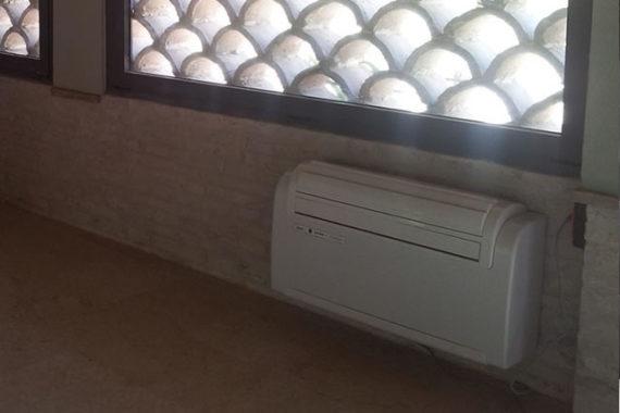 loft-ricavato-da-garage-climatizzatore
